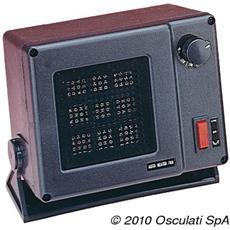 Riscaldatore elettronico ad Aria Forzata Nera 12 V 300 W 50.383.00