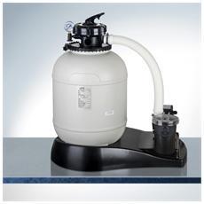 Filtro A Sabbia Con Rpefiltro, Serbatoio Ø 380mm, Valvola 5 Posizioni