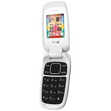 """Classic C50 Dual Sim Display 1.8"""" +Slot MicroSD Bluetooth RadioFM - Bianco"""