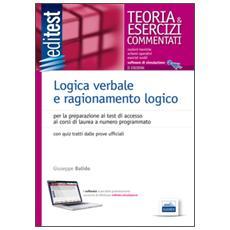 EdiTEST. Logica verbale e ragionamento logico. Teoria & esercizi commentati. Con software di simulazione online