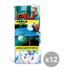 Set 12 Telo Per Asse Da Stiro 120x65 Cm. Tipo Foppapedretti Art. 0442g Buc