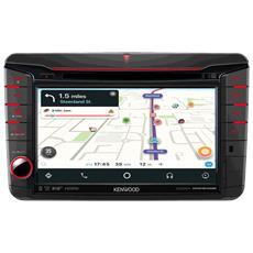 """Sistema di Navigazione per Volkswagen Skoda e Seat + Lettore Multimediale DA+ FM per Auto Touchscreen 7.0"""" Bluetooth USB / CD / DVD Colore Nero"""