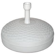 Base Ombrellone Bianco 20 cm