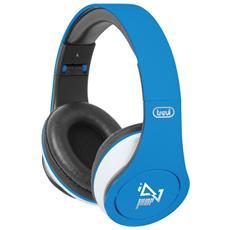 Cuffie Dj 677 M con Microfono - Blu