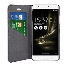 Eco leather book black asus zenfone 3 ultra 6.8