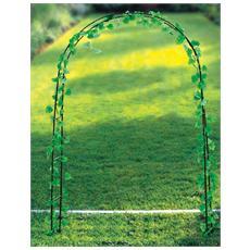 Arco In Metallo Per Fiori Cm. 137x38x200/240