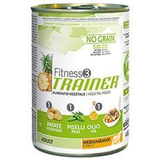 Fitness3 Cane Taglia Media E Grande, Vegetal 400 Gr