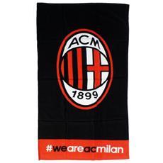 Telo Mare Milan Grande 90x170 Ufficiale Ac Milan Calcio Ps 05720