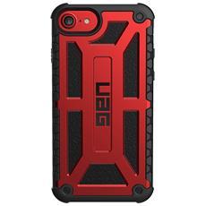 Cover per iPhone 8 / 7 / 6S Colore Rosso e Nero