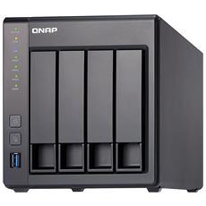 "NAS TS-431X2-8G con 4 Slot 2.5"" / 3.5"" Sata III / 2x Gigabit Ethernet / 3x USB 3.0 / Ram 8 GB"