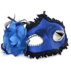 maschera creator 'carnaval de venise' blu - [ m2246]