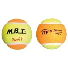 3 Pz Palline Soft Beach Tennis