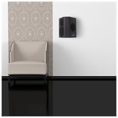 C 9 SUR, Pavimento, Montabile a parete, Speaker set unit, 80 - 24000 Hz, Nero, 3-vie
