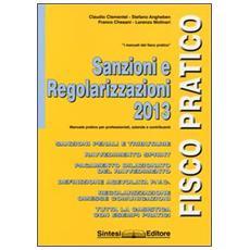 Sanzioni e regolarizzazioni 2013