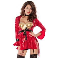Costume Burlesque 4 Pezzi - Taglia Unica - Lc8661