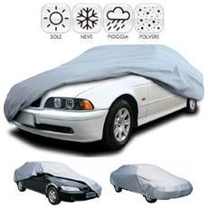 Madprice - Telo Copri Auto Varie Misure S M L Xl Nylon Impermeabile Pvc Antighiaccio Protezione Sole Sporco Animali Copriauto Macchina