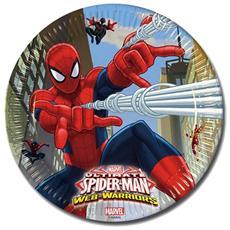 Piatti Spiderman 23cm