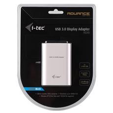 i-tec USB 3.0 Advance HDMI USB 3.0 HDMI Bianco cavo di interfaccia e adattatore