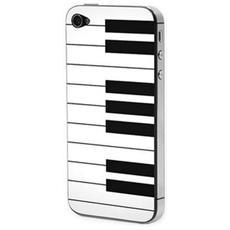 Adesivo Lubique Skin Sticker Sk6716 Piano Per Iphone 4/4s