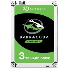 "Hard Disk Interno BarraCuda 3 TB 3.5"" Interfaccia Sata III 6 Gb / s Buffer 256 MB"