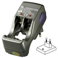 IBT-KCR78284 - Caricabatteria per 2-4 batterie stilo / ministilo Ni-Cd / Ni-MH