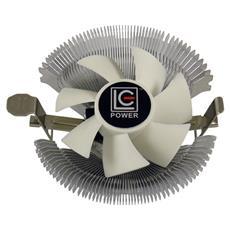 Dissipatore CPU Cosmo Cool LC-CC-85 ad Aria per Socket Intel LGA 775/1150/1151/1155/1156 e AMD FM1 / FM2 / AM2 / AM2+ / AM3 / AM3+ / AM4