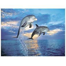 Puzzle Animals Delfini 500 pz 49 x 36 cm 30139