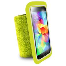 PURO - Custodia Univer Da Polso ''running Band'' Con Taschina Up To 5.1'' Verde Li