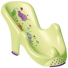 Sdraio Bimbo Per Bagno Hippo Verde Bagnetto Mondo Baby