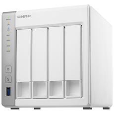 "NAS TS-431P2 con 4 Slot 2.5"" / 3.5"" Interfacce 2 x Gigabit Ethernet / 3 x USB 3.0 Ram 4 GB"