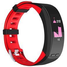 Smart Band P5 Activity Tracker Fitness Cardiofrequenzimetro Gps Altimetro Outdoor Red