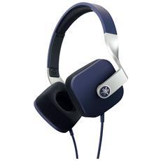 HPH-M82 Cuffie con Microfono Colore Blu