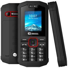 "Spider X1 Nero Dual Sim Impermeabile Display 1.77"" +Slot MicroSD Bluetooth Fotocamera Torcia RadioFM"