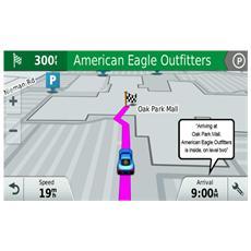 """Drive 50LM Travel Edition Display touchscreen 5"""" +Slot MicroSD Mappe Europa 45 paesi con aggiornamenti a gratis a vita, GPS - Europa"""
