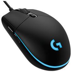 LOGITECH - Mouse Gaming USB Ottico G Pro 6 Tasti 12000 DPI...