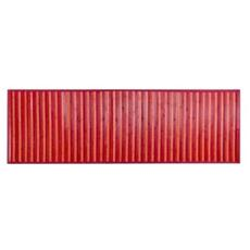 Tappeto In Bamboo Rosso 50x180