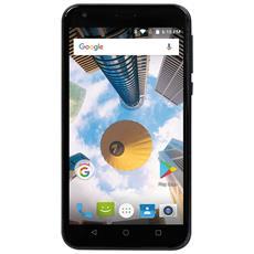 "PhonePad Duo S5 Nero 16 GB 4G / LTE Dual Sim Display 5"" Slot Micro SD Fotocamera 8 Mpx Android Italia"