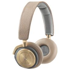 BeoPlay H8, Circumaurale, Padiglione auricolare, Bluetooth, Oro, 3,5 mm, 20 - 22000 Hz