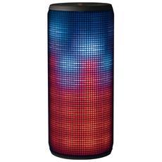 Altoparlante Wireless Dixxo Potenza Totale 10W Illuminazione LED Bluetooth USB Slot SD