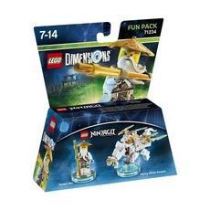 LEGO Dimensions Fun Pack - Ninjago Sensei Wu, LEGO, Multicolore, LEGO Dimensions