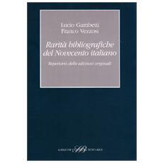 Rarità bibliografiche del Novecento italiano