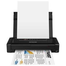 WorkForce WF-100W Stampante Inkjet a Colori A4 14 Ppm (Mono) 11 Ppm (Colore) Usb Wi-Fi