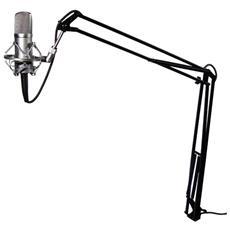 Supporto estensibile per Microfono Braccio elevatore Regolabile Manopola Professio Msra10