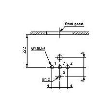 NC3FD-H XLR Acciaio inossidabile cavo di collegamento