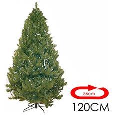 Albero Di Natale Ebal 1,20mt Super Folto Effetto Realistico Art. 498915