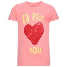 Nitveenki Light Ss Top T-shirt Manica Corta Bambina Cm 158