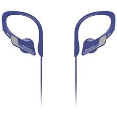 Auricolari con Microfono Bluetooth Clip Sport Colore Blu