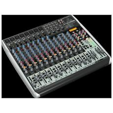 Bh Qx2222usb Mixer Xenyx 22 In 2/2 Bus Fx E Wireless
