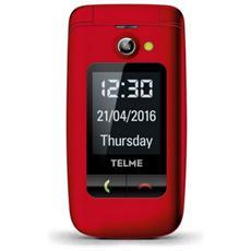"Emporia X200 Senior Phone Dual Sim Display 2.4"" SD Bluetooth con Tasti Grandi + SOS Fotocamera Colore Rosso"
