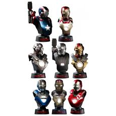 Iron Man Coll Bust Deluxe Set Busto